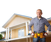 Professional constructor — Stock Photo