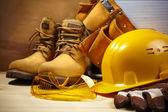 Construcción de la seguridad — Foto de Stock