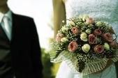 婚礼那天 — 图库照片