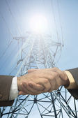 Energy contract — Stock Photo