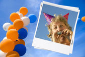 Verjaardag — Stockfoto