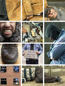 Homeless life — Stock Photo
