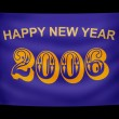 Happy New Year banner — Stock Photo #15810037