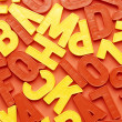 Alphabet background — Stock Photo #15811431