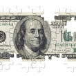 One hundred dollars(isolated) - Stock Photo