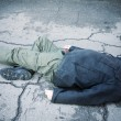 Homeless end — Stock Photo