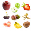 Stock Photo: Fruit concept