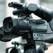 Pro camcorder — Stock Photo