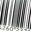 Barcode in close up — Stock Photo #15817183