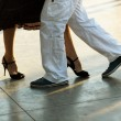 Tango on the street - Stock Photo