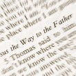 Jesus the Way to the Fahter — Stock Photo #15818419