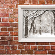Winter art — Stock Photo