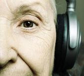Senior DJ — Stock Photo
