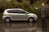 Me and my car! — Zdjęcie stockowe