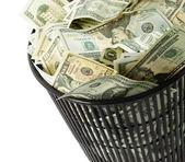 Dollars bin — Zdjęcie stockowe