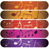 Colorful music — Stock Photo
