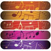 Música colorida — Foto de Stock