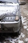 Dirty car — Stock Photo