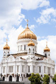 Russian orthodox cathedral — Stock Photo
