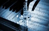 Jazz-konzept — Stockfoto