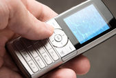 Modern cell-phone — Stock Photo