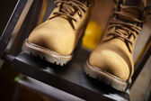 Boots of constructor — Stock Photo