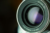 Camcorder lens — Stock Photo