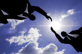 деловое рукопожатие — Стоковое фото