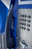 Old street phone — Stock Photo
