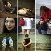 Urban teens — Foto Stock