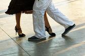 Tango na ulicy — Zdjęcie stockowe