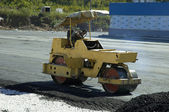 Road-roller — Stock Photo
