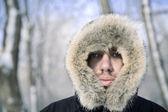 холодная зима — Стоковое фото