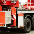 Red fire truck - Foto Stock