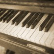 Vintage piano — Stock Photo