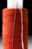 Sewing needle — Stock Photo