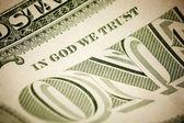 In God We Trust — Стоковое фото