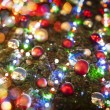 Christmas tree and lights - Stock Photo