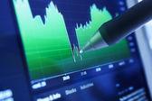 İş çizelgeleri ve piyasalar — Stok fotoğraf