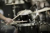 барабанщик — Стоковое фото