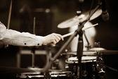 Perkusista — Zdjęcie stockowe