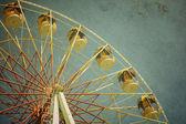 Carnival ferris wheel — Stock Photo