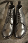 Italian Leather Boots — Foto Stock
