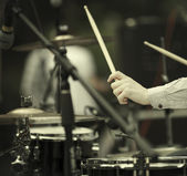 Drummer — Stock Photo
