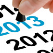 Step Into New Year 2013 — Stock Photo #13678315