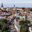 Downtown of Tallinn City — Stockfoto