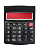 Isolated Black Calculator — Stock Photo