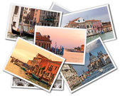 Colagem de veneza — Fotografia Stock