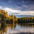 Autumnal Lake — Foto Stock #37074175