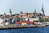 Panorama of Tallinn City — Stockfoto